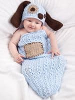 Cable Cocoons and Hats Crochet Book Annie's 871391 DISCONTINUED